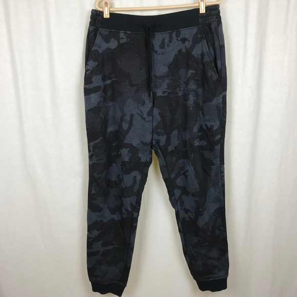 Under Armour Pants Mens Xl Rival Fleece Patterned Jogger Poshmark Cool Mens Patterned Joggers